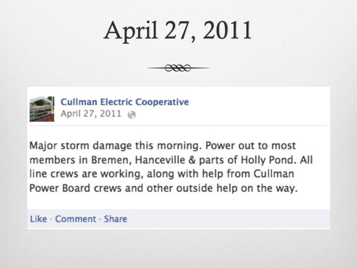 April 27, 2011