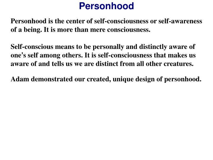 Personhood