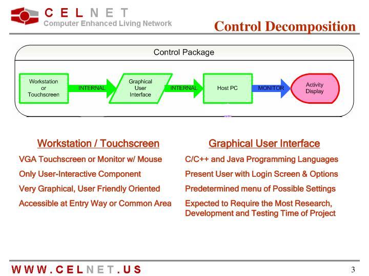 Control Decomposition