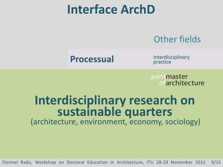 Interface ArchD