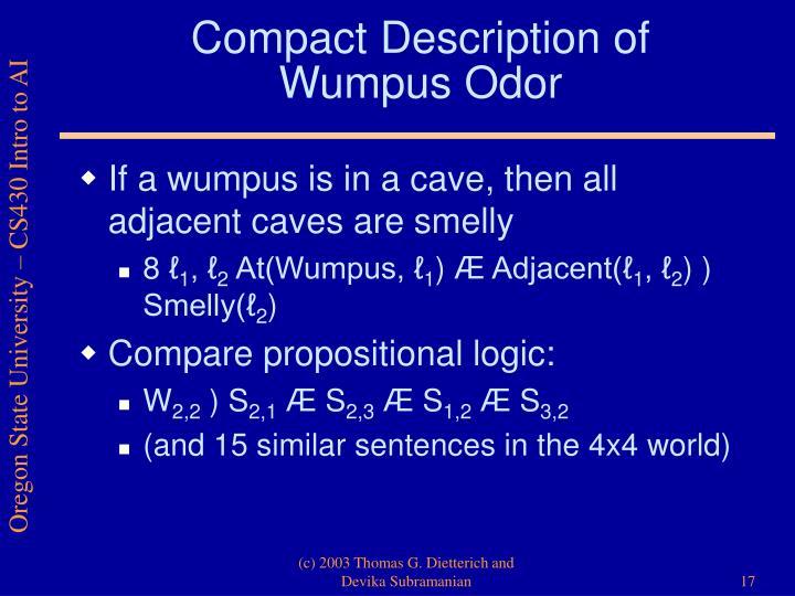 Compact Description of