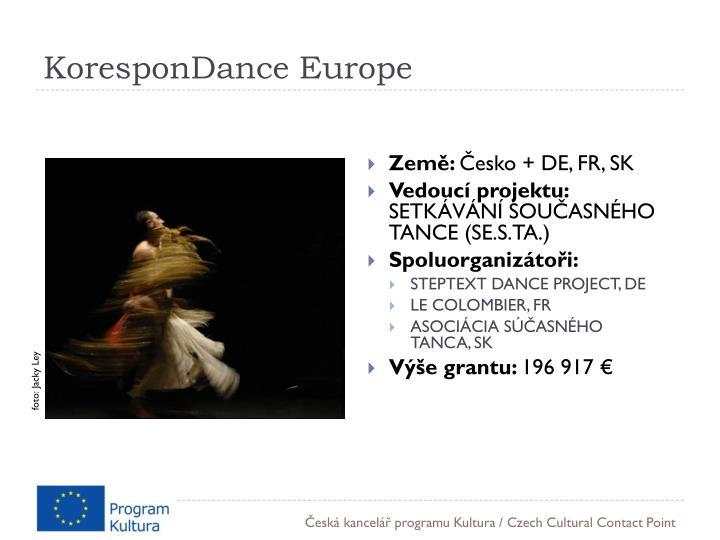 KoresponDance Europe