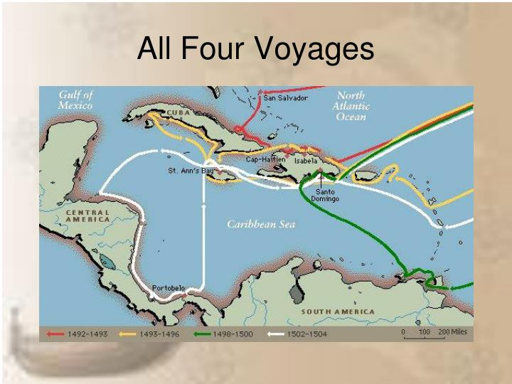 All Four Voyages
