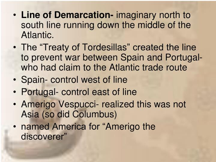 Line of Demarcation-