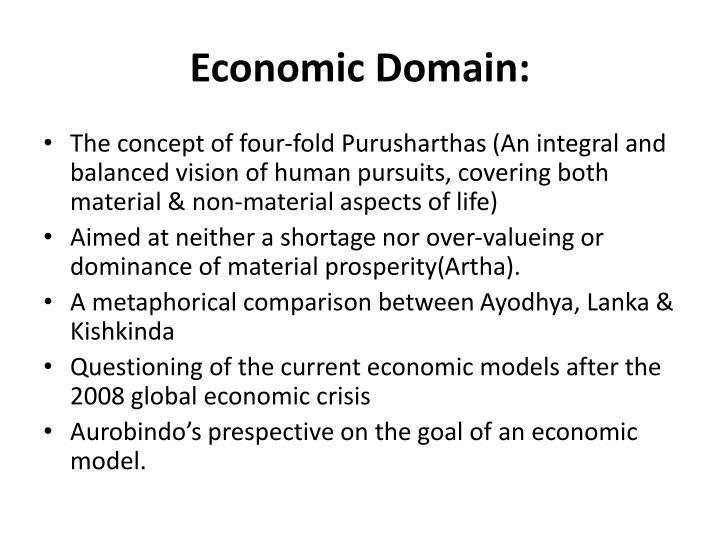Economic Domain: