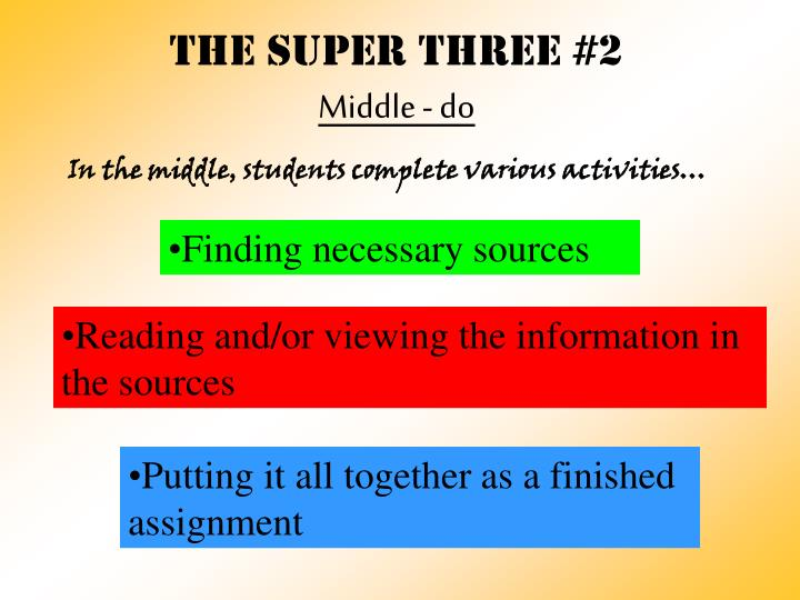 THE Super three #2
