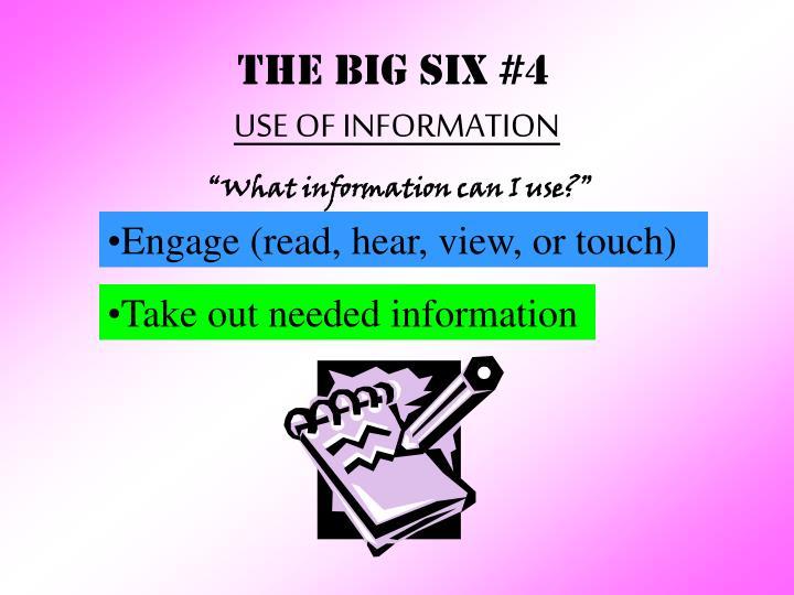THE BIG SIX #4