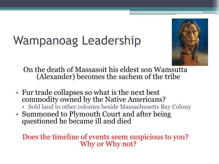 Wampanoag Leadership
