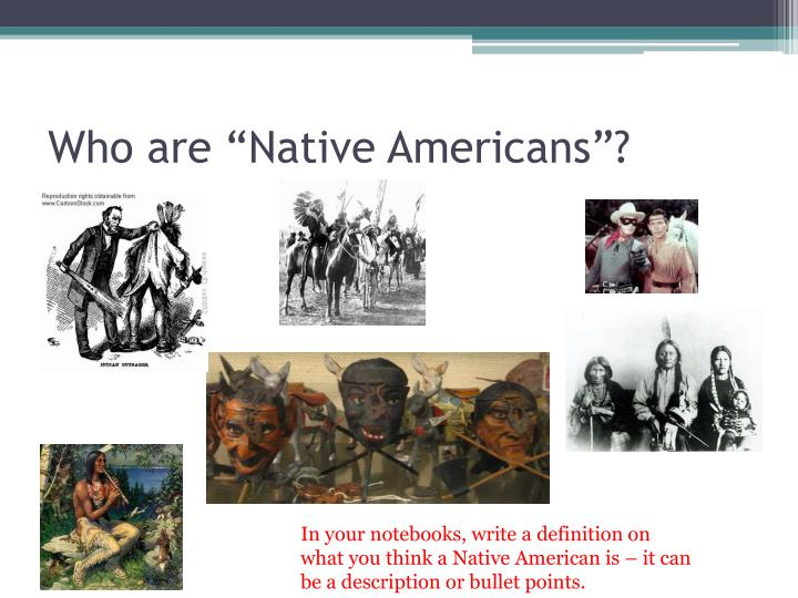 """Who are """"Native Americans""""?"""