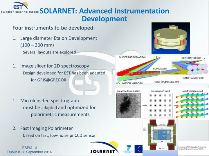 SOLARNET: Advanced