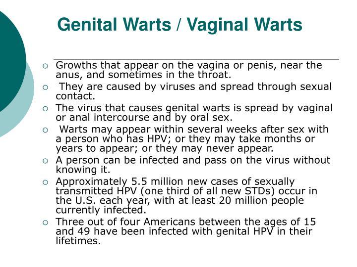 Genital Warts / Vaginal Warts