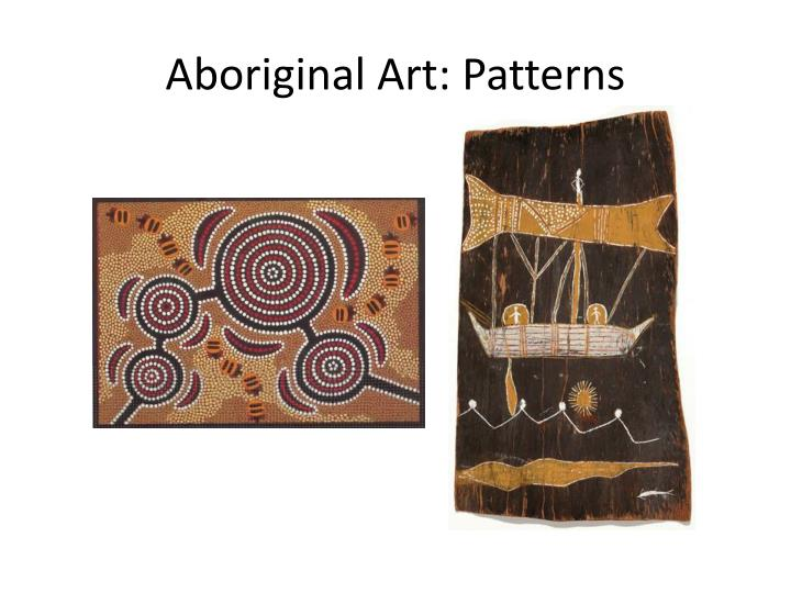 Aboriginal Art: Patterns