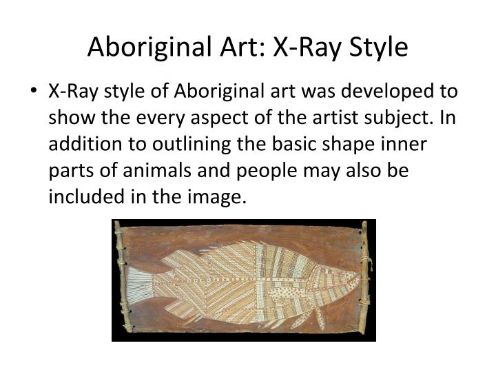 Aboriginal Art: X-Ray Style