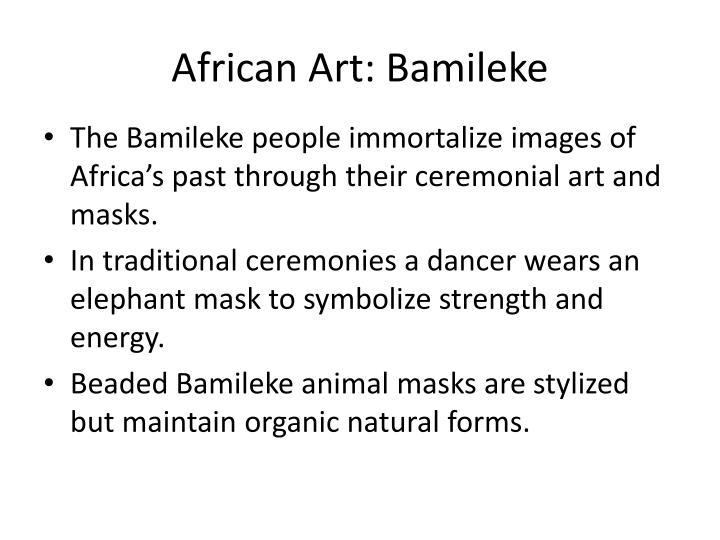 African Art: