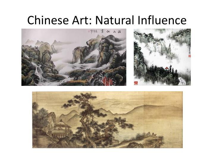 Chinese Art: Natural Influence