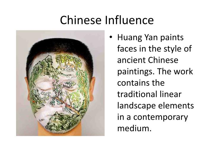 Chinese Influence