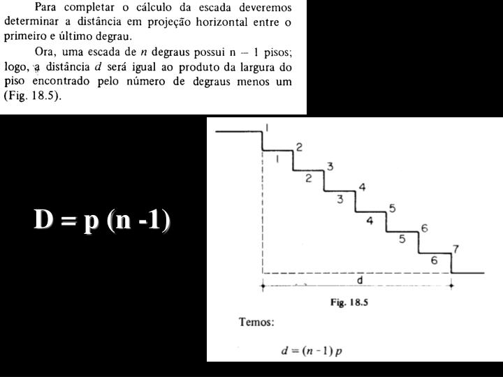 D = p (n -1)