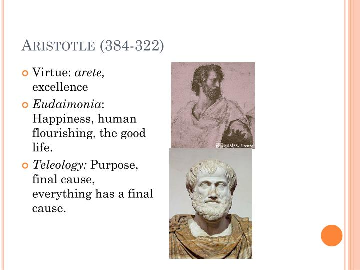 Aristotle (384-322)