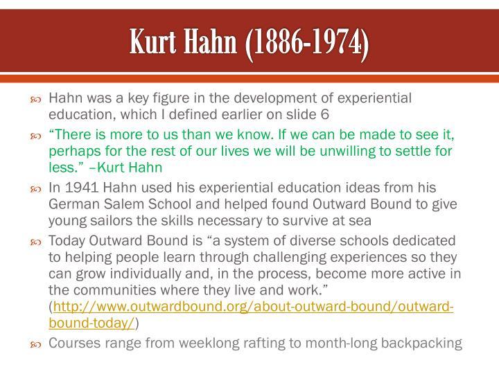 Kurt Hahn (1886-1974)