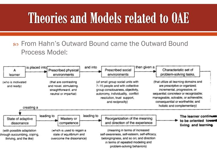 Theories and Models related to OAE