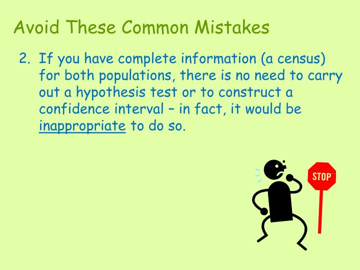 Avoid These Common Mistakes