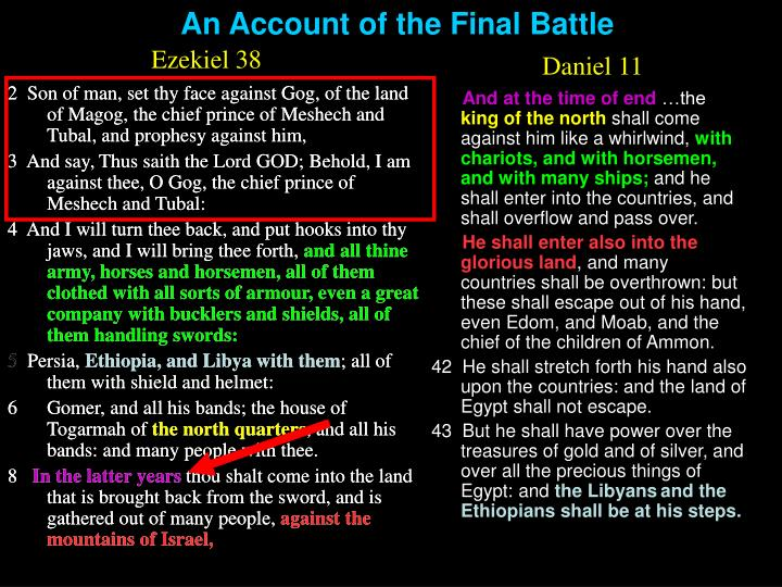 An Account of the Final Battle