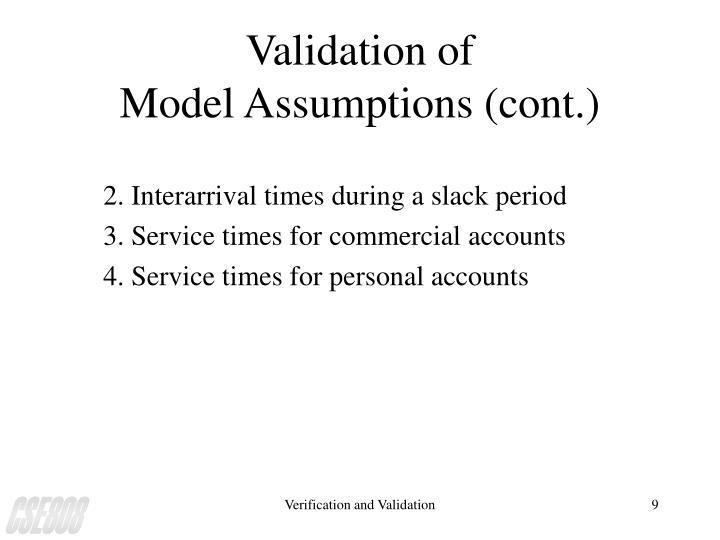 Validation of