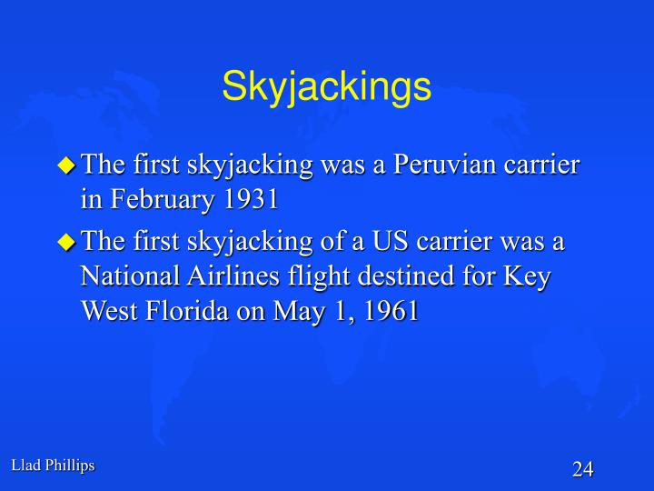 Skyjackings