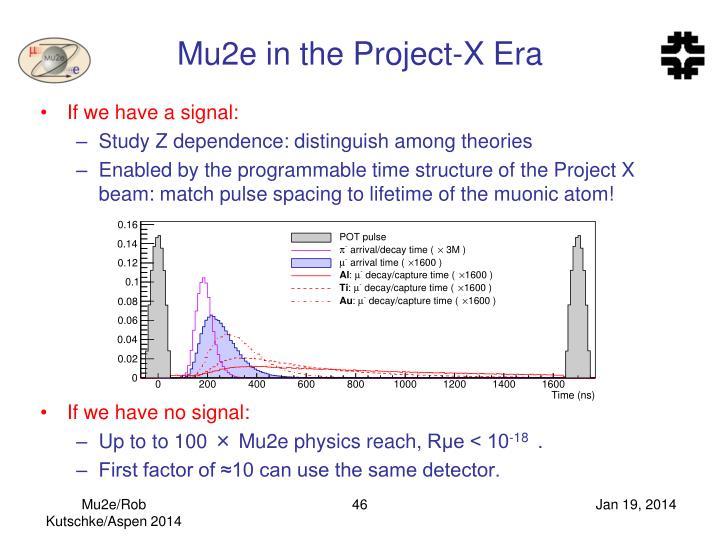 Mu2e in the Project-X Era