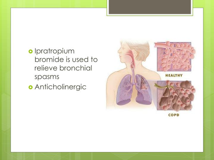 how to stop bronchial spasms