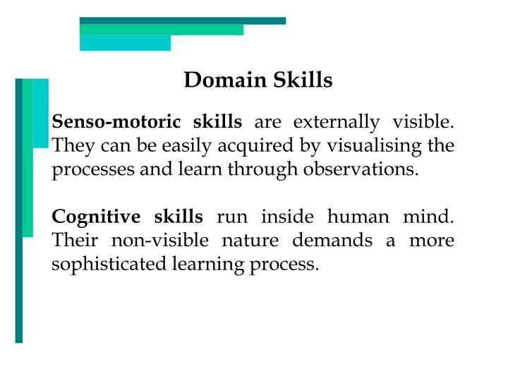 Domain Skills