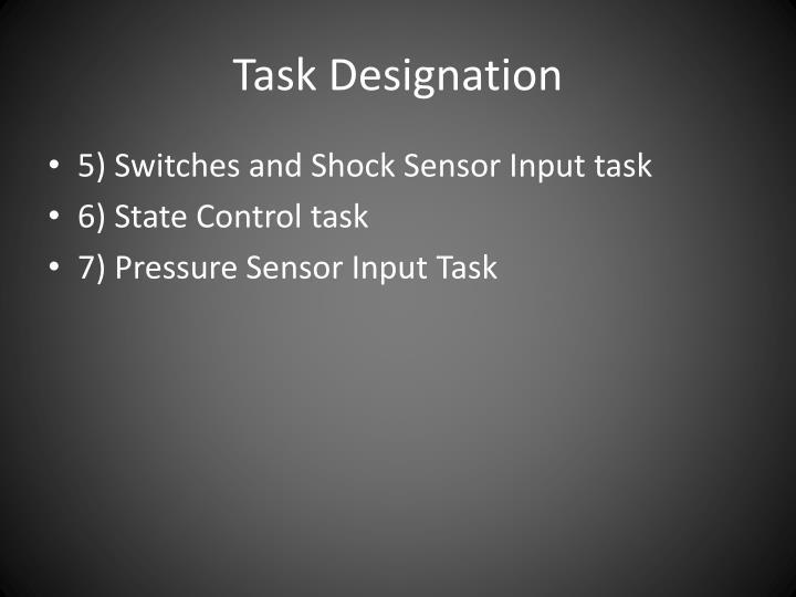 Task Designation