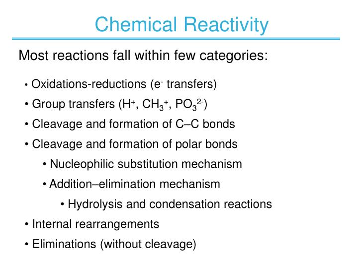 Oxidations-reductions (e