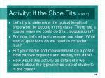 activity if the shoe fits part 2