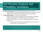 nctm data analysis and probability standards