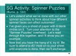 sg activity spinner puzzles burns p 122
