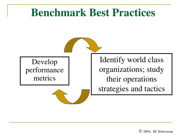 Benchmark Best Practices