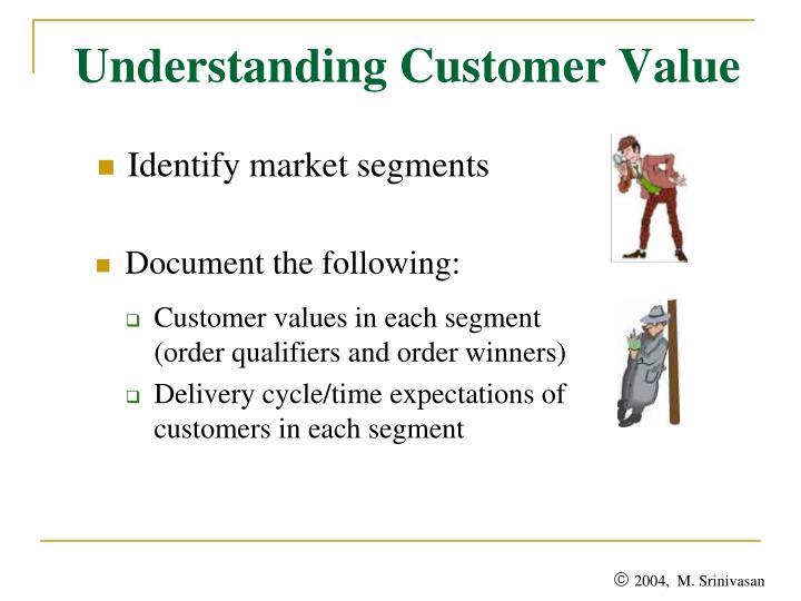 Understanding Customer Value