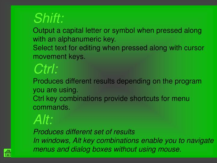 Shift: