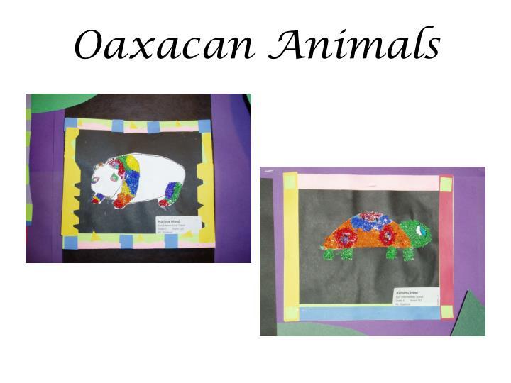 Oaxacan Animals