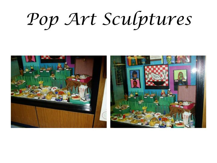 Pop Art Sculptures