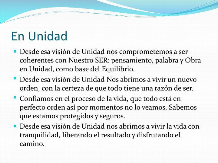 En Unidad