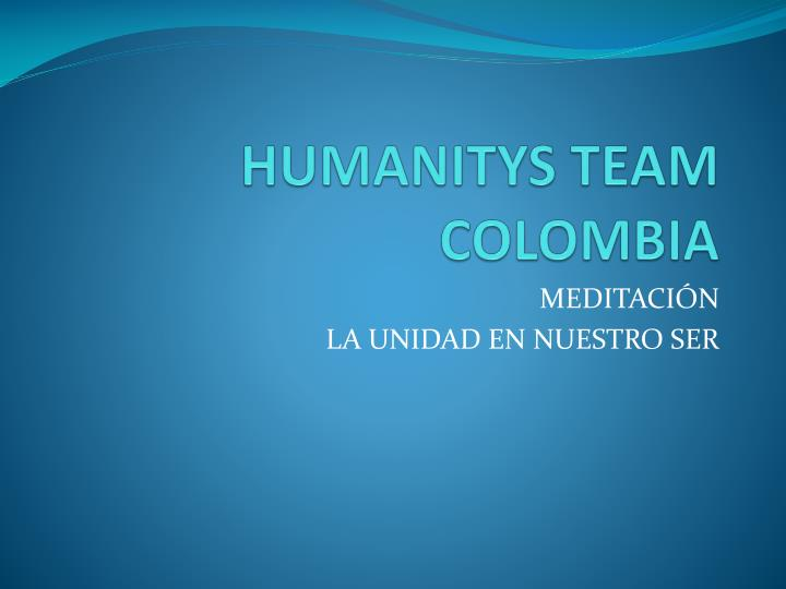 HUMANITYS TEAM COLOMBIA