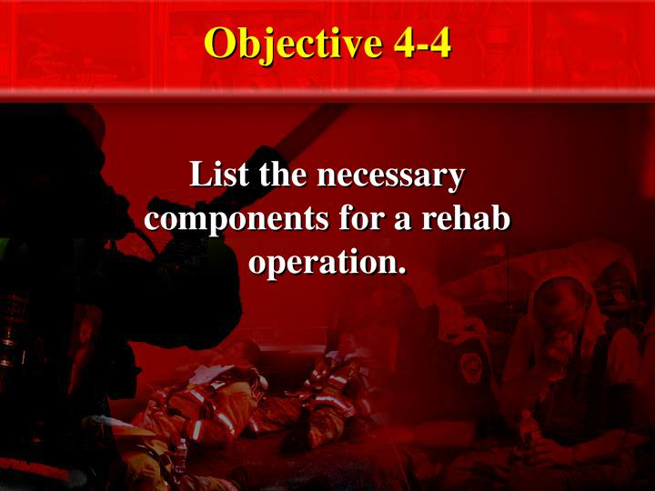 Objective 4-4