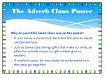 the adverb claus poster