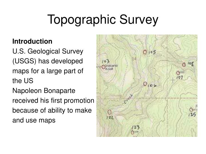 Topographic survey1