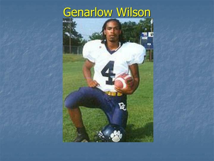 Genarlow Wilson