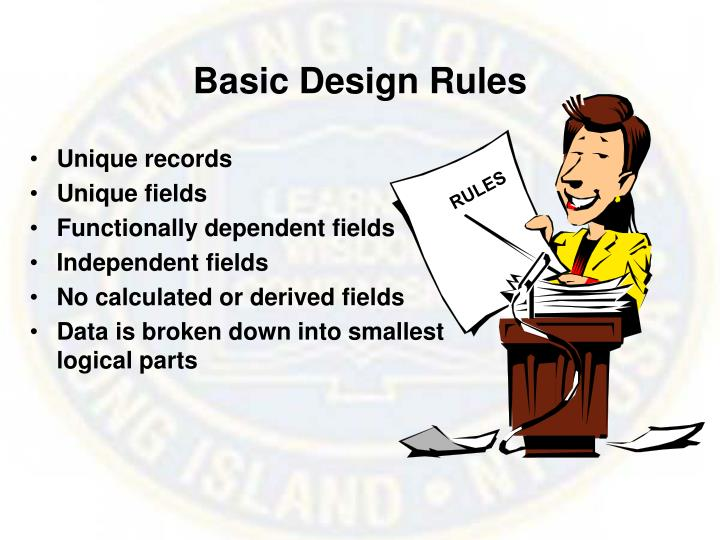 Basic Design Rules