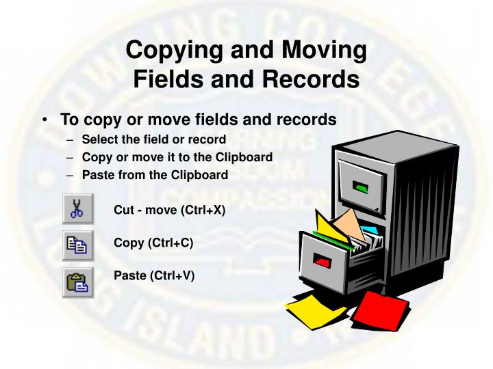 Copying and Moving