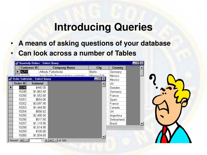 Introducing Queries